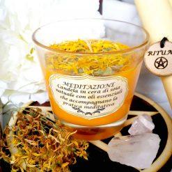 Candela rituale Meditazione - themagicwood